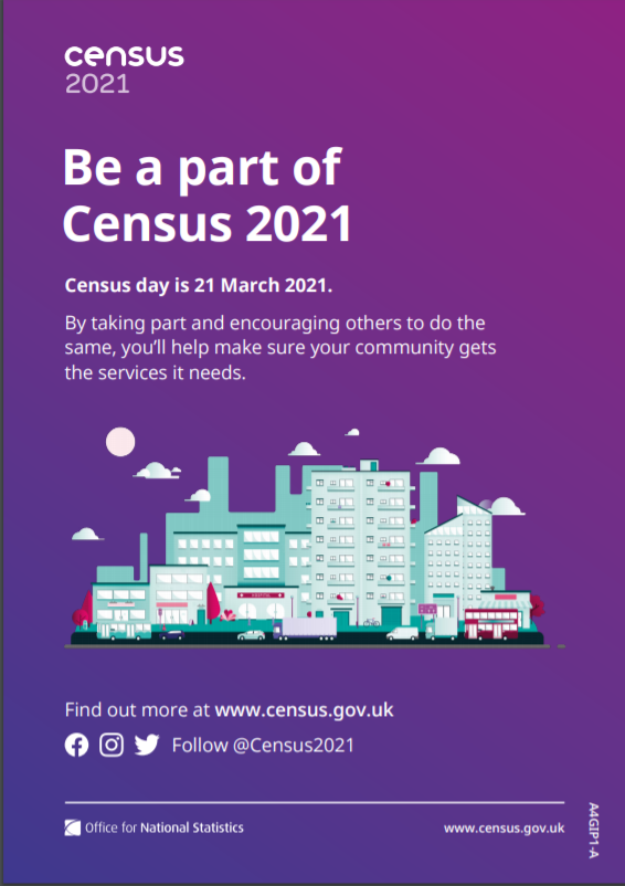 CENSUS 2021 – 21st March – Please take note