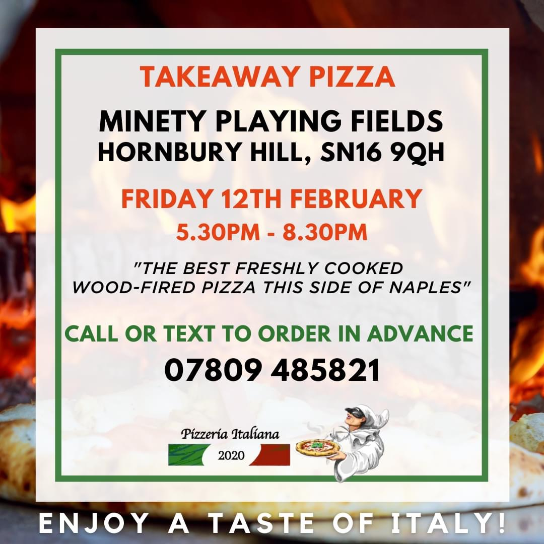 Friday Feb-12 – Pizza at the Playing Fields