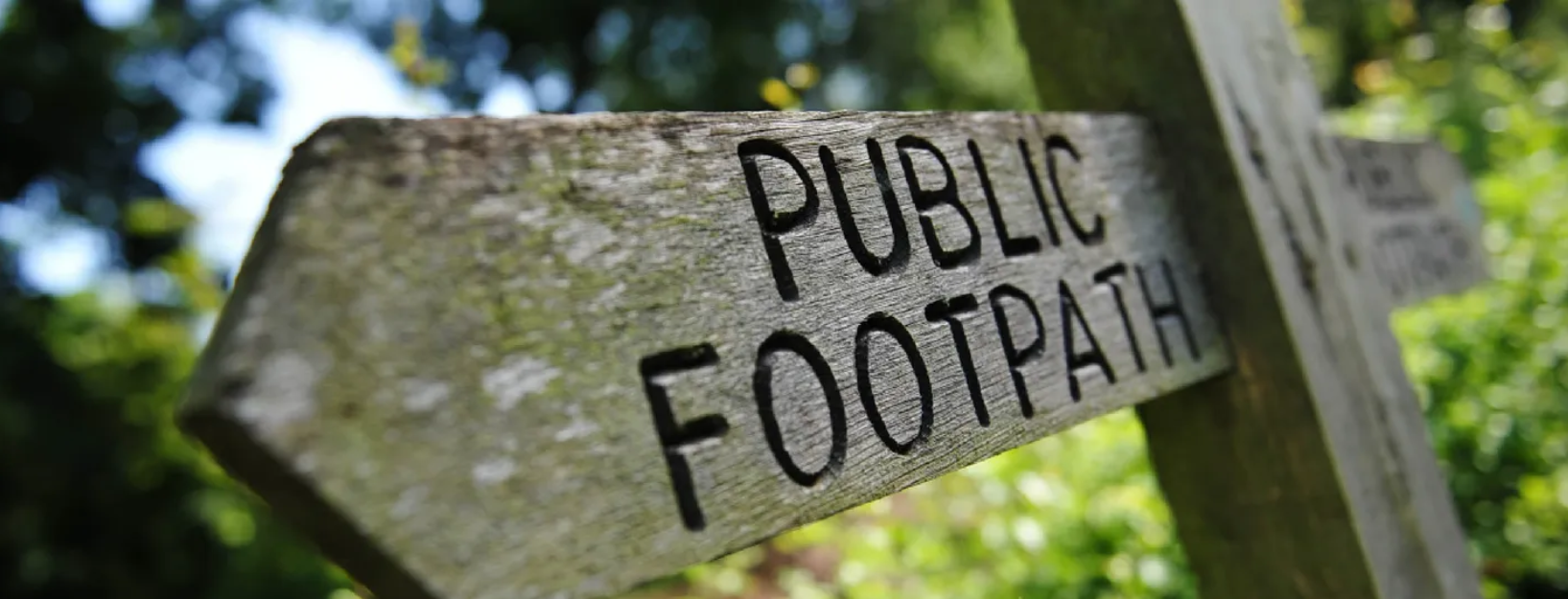 Footpaths and Public Rights of Way