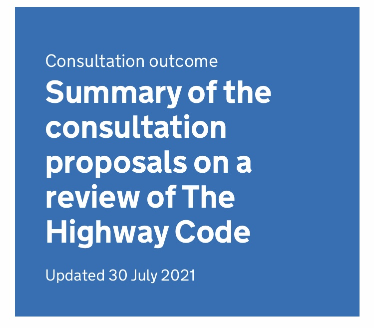 Cycling, Horse Riding and Changes to the Highway Code