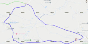 Image of map for road closure